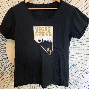 Vegas Strong V-Neck, XL
